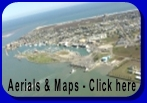 Aerial Photos of Port Aransas Texas and Mustang Island